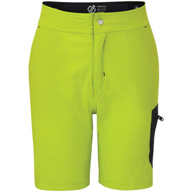 Dare 2b Reprise Shorts Kinderen, lime punch/outerspace blue